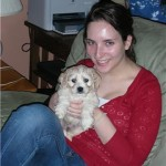 Freddie a Cockapoo Puppy we had for sale with his new mommy